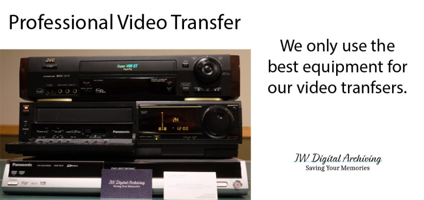 Professional video Transfer regina