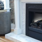 marble fireplace surround daltile