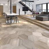 tips for combining tile flooring styles