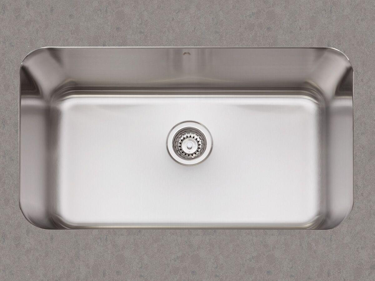 afa flow single bowl undermount sink no