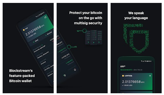 Aplikasi Green: Bitcoin Wallet