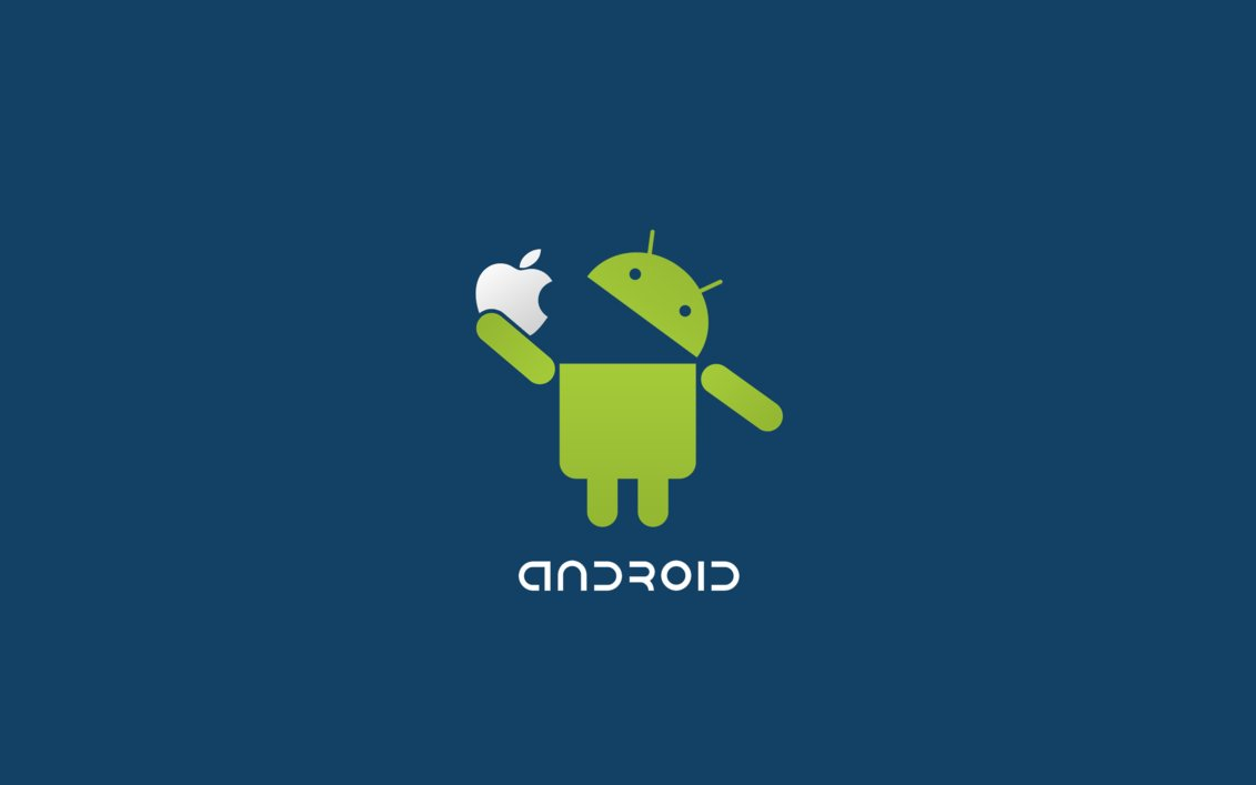 creative android fix apple logo funny wallpaper | high definitions