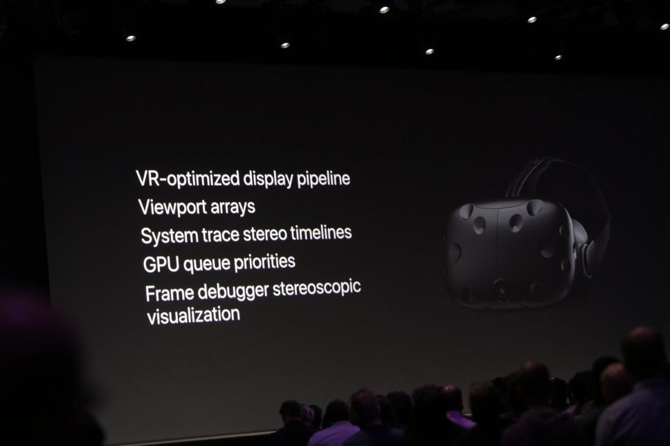 WWDC Oculus Rift HTC Vive VR