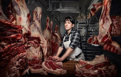 Heather Marold Thomason, Butcher and Owner of Primal Supply Meats, Philadelphia PA