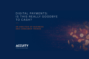 [Whitepaper] Digital Payments: Is This Really Goodbye to Cash?