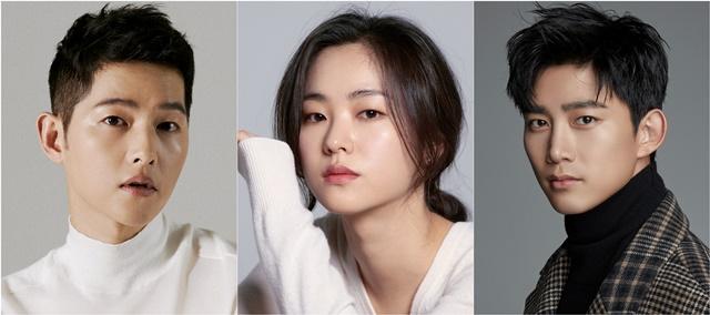 tvN 새드라마 '빈센조'에 캐스팅된 배우 송중기,전여빈,옥택연(왼쪽부터) / 사진 : 하이스토리 디앤씨, 제이와이드컴퍼니, 피프티원케이