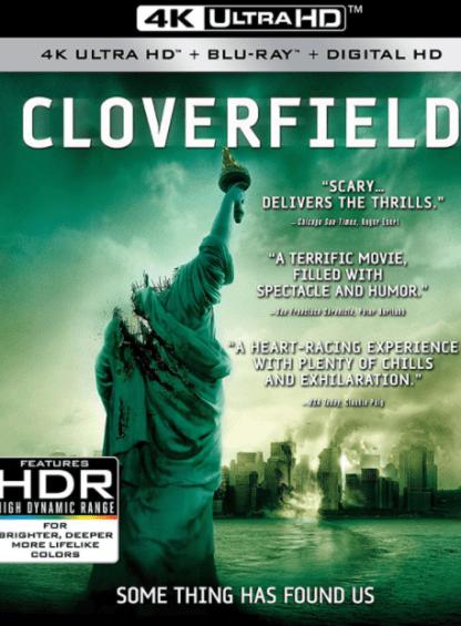 CLOVERFIELD 4K UHD VUDU DIGITAL COPY MOVIE CODE (READ DESCRIPTION FOR CORRECT REDEMPTION SITE) USA