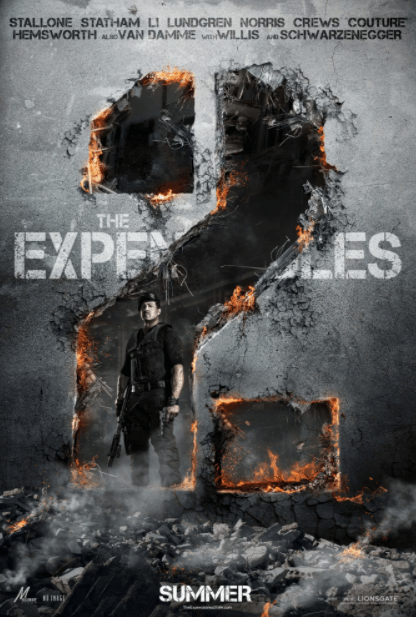 EXPENDABLES 2 (THE) HD iTunes DIGITAL COPY MOVIE CODE (DIRECT IN TO ITUNES) CANADA