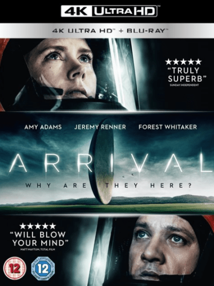 ARRIVAL 4K UHD iTunes DIGITAL COPY MOVIE CODE (DIRECT IN TO ITUNES) USA CANADA