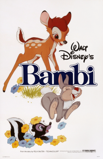 BAMBI SIGNATURE EDITION DISNEY HD iTunes DIGITAL COPY MOVIE CODE (READ DESCRIPTION FOR REDEMPTION SITE/STEP/INFO) USA CANADA
