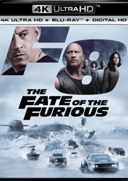FAST & THE FURIOUS 8 / FATE OF THE FURIOUS (THE) EXTENDED DIRECTOR'S CUT / THEATRICAL 4K UHD iTunes DIGITAL COPY MOVIE CODE ONLY (DIRECT INTO ITUNES) USA CANADA