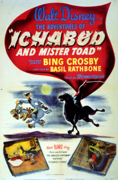 ADVENTURES OF ICHABOD AND MR TOAD (THE) SPECIAL EDITION DISNEY HDX VUDU, HDX MOVIES ANYWHERE, HD iTunes DIGITAL COPY MOVIE CODE (READ DESCRIPTION FOR REDEMPTION SITE/STEP/INFO) USA CANADA