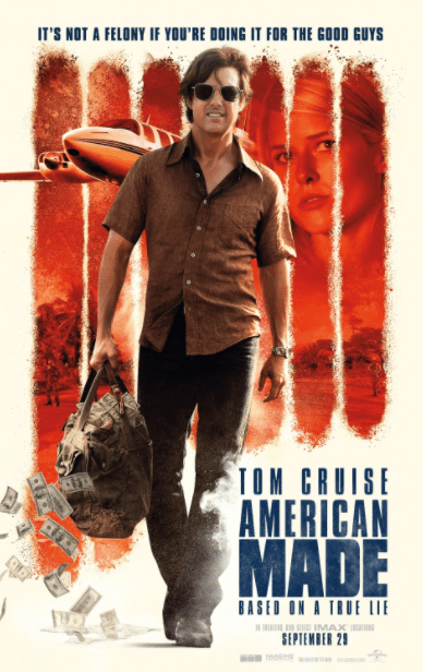 AMERICAN MADE HDX MOVIES ANYWHERE (USA) / GOOGLE PLAY (CANADA) DIGITAL MOVIE CODE ONLY (READ DESCRIPTION FOR REDEMPTION SITE)