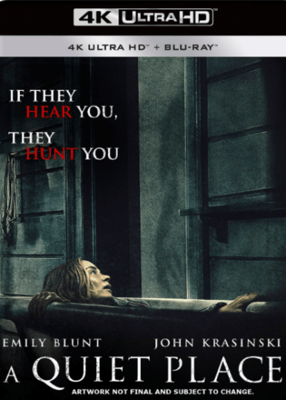 A QUIET PLACE 4K UHD VUDU DIGITAL COPY MOVIE CODE (READ DESCRIPTION FOR CORRECT REDEMPTION SITE) USA