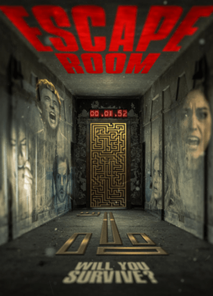 ESCAPE ROOM HD GOOGLE PLAY DIGITAL COPY MOVIE CODE (DIRECT IN TO GOOGLE PLAY) CANADA