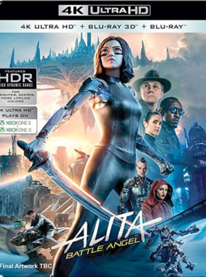 ALITA BATTLE ANGEL 4K UHD GOOGLE PLAY DIGITAL COPY MOVIE CODE (DIRECT INTO GOOGLE PLAY) CANADA
