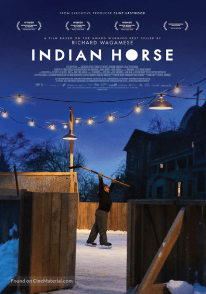 INDIAN HORSE HD iTunes DIGITAL COPY MOVIE CODE (DIRECT IN TO ITUNES) CANADA