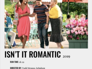 ISN'T IT ROMANTIC HD GOOGLE PLAY DIGITAL COPY MOVIE CODE (DIRECT INTO GOOGLE PLAY) CANADA