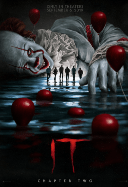 IT 2 (2019) HDX MOVIES ANYWHERE (USA) / HD GOOGLE PLAY (CANADA) DIGITAL COPY MOVIE CODE (READ DESCRIPTION FOR REDEMPTION SITE)