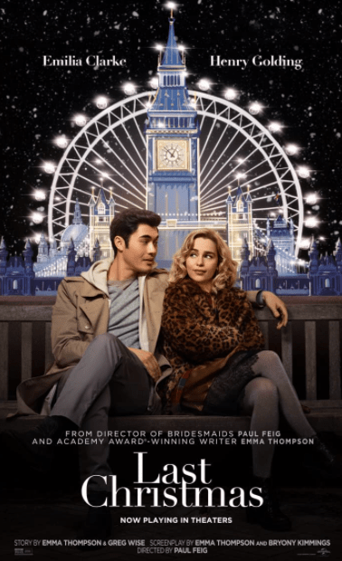 LAST CHRISTMAS HD GOOGLE PLAY DIGITAL COPY MOVIE CODE (DIRECT IN TO GOOGLE PLAY) CANADA