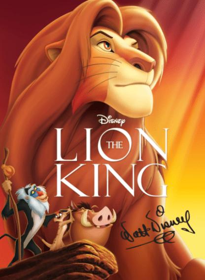 LION KING (THE) DISNEY HD iTunes DIGITAL COPY MOVIE CODE (READ DESCRIPTION FOR REDEMPTION SITE/STEP/INFO) USA CANADA