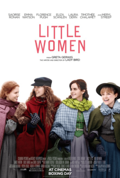 LITTLE WOMEN HD GOOGLE PLAY DIGITAL COPY MOVIE CODE (DIRECT IN TO GOOGLE PLAY) CANADA