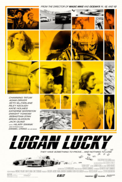 LOGAN LUCKY 4K UHD iTunes DIGITAL COPY MOVIE CODE (DIRECT IN TO ITUNES) USA