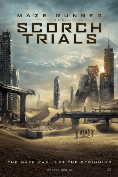 MAZE RUNNER 2 (THE) THE SCORCH TRIALS HD GOOGLE PLAY, HD iTunes (CANADA) / HD iTunes (USA) DIGITAL COPY MOVIE CODE (READ DESCRIPTION FOR REDEMPTION SITE/STEP/INFO)