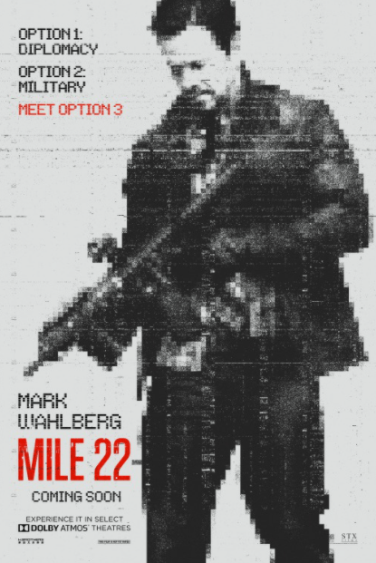 MILE 22 4K UHD iTunes DIGITAL COPY MOVIE CODE (DIRECT IN TO ITUNES) USA