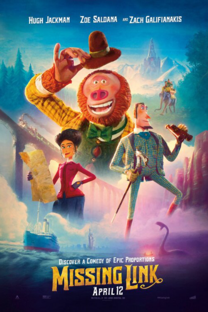 MISSING LINK 4K UHD iTunes DIGITAL COPY MOVIE CODE (DIRECT IN TO ITUNES) CANADA