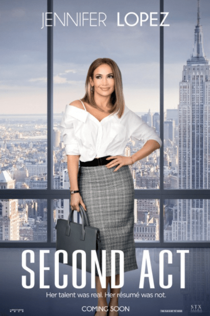 SECOND ACT HD iTunes DIGITAL COPY MOVIE CODE (DIRECT IN TO ITUNES) CANADA
