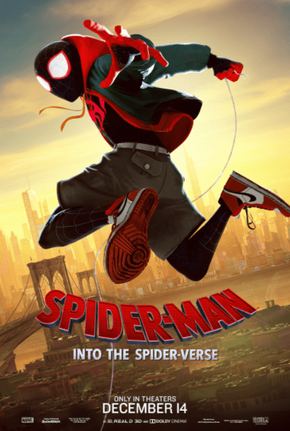 SPIDER-MAN INTO THE SPIDER-VERSE MARVEL HD GOOGLE PLAY DIGITAL COPY MOVIE CODE (DIRECT IN TO GOOGLE PLAY) CANADA