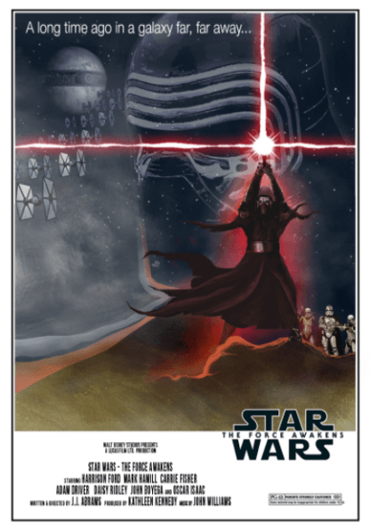 STAR WARS 7 THE FORCE AWAKENS DISNEY HD iTunes DIGITAL COPY MOVIE CODE (READ DESCRIPTION FOR REDEMPTION SITE/STEP/INFO) USA CANADA