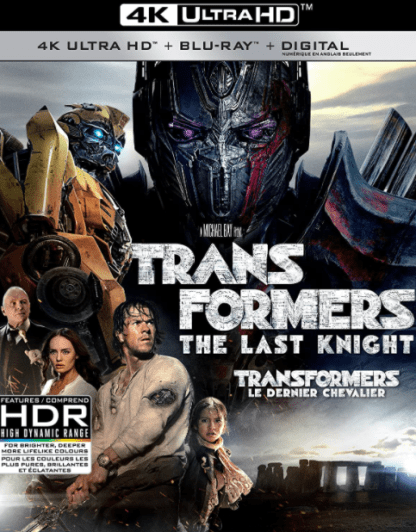 TRANSFORMERS 5 THE LAST KNIGHT 4K UHD iTunes DIGITAL COPY MOVIE CODE (DIRECT IN TO ITUNES) USA CANADA