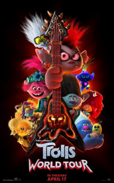 TROLLS 2 / TROLLS WORLD TOUR HD GOOGLE PLAY DIGITAL COPY MOVIE CODE (DIRECT IN TO GOOGLE PLAY) CANADA