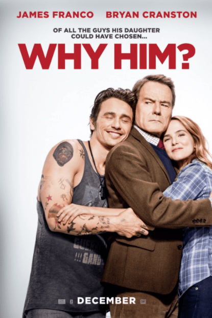 WHY HIM ? HDX VUDU, HDX MOVIES ANYWHERE, 4K UHD iTunes, HD GOOGLE PLAY (USA) / 4K UHD iTunes (CANADA) DIGITAL COPY MOVIE CODE (CANADIAN CLIENTS READ DESCRIPTION FOR REDEMPTION SITE/STEP INFO)