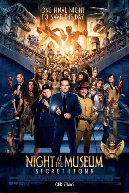 NIGHT AT THE MUSEUM SECRET OF THE TOMB HD GOOGLE PLAY, HD iTunes (CANADA) / HD iTunes (USA) DIGITAL COPY MOVIE CODE (READ DESCRIPTION FOR REDEMPTION SITE/STEP/INFO)