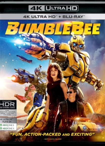 BUMBLEBEE TRANSFORMERS 4K UHD VUDU DIGITAL COPY MOVIE CODE (READ DESCRIPTION FOR CORRECT REDEMPTION SITE) USA