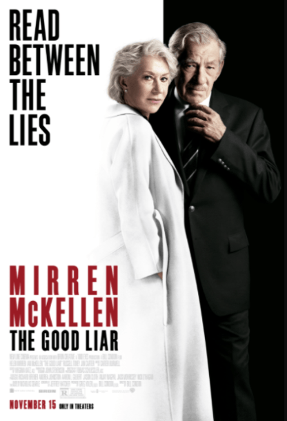 GOOD LIAR (THE) HDX MOVIES ANYWHERE (USA) / HD GOOGLE PLAY (CANADA) DIGITAL COPY MOVIE CODE (READ DESCRIPTION FOR REDEMPTION SITE)