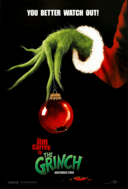 DR. SEUSS' HOW THE GRINCH STOLE CHRISTMAS HD GOOGLE PLAY DIGITAL COPY MOVIE CODE (DIRECT IN TO GOOGLE PLAY) CANADA