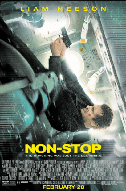 NON-STOP HD iTunes DIGITAL COPY MOVIE CODE (DIRECT IN TO ITUNES) USA CANADA