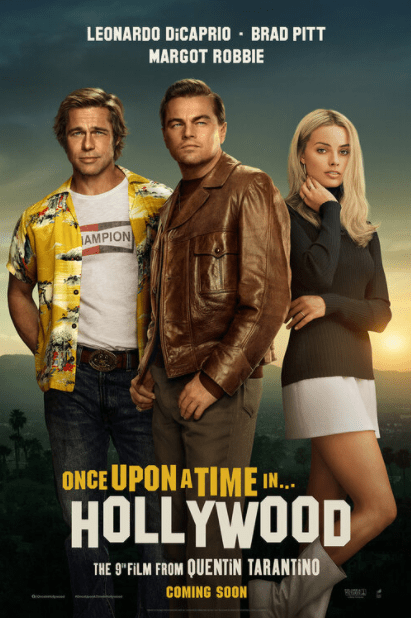 ONCE UPON A TIME IN HOLLYWOOD HD GOOGLE PLAY DIGITAL COPY MOVIE CODE (DIRECT IN TO GOOGLE PLAY) CANADA
