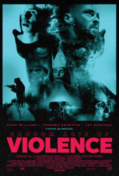 RANDOM ACTS OF VIOLENCE 4K UHD iTunes DIGITAL COPY MOVIE CODE (DIRECT IN TO ITUNES) CANADA