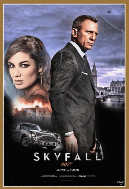 SKYFALL JAMES BOND 007 DANIEL CRAIG HD GOOGLE PLAY DIGITAL COPY MOVIE CODE (DIRECT IN TO GOOGLE PLAY) CANADA