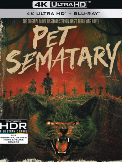 PET SEMATARY (1989) 4K UHD iTunes DIGITAL COPY MOVIE CODE (DIRECT IN TO ITUNES) USA CANADA