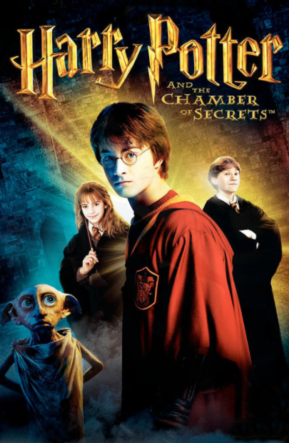 HARRY POTTER 2 / HARRY POTTER AND THE CHAMBER OF SECRETS HD GOOGLE PLAY DIGITAL COPY MOVIE CODE (DIRECT IN TO GOOGLE PLAY) CANADA