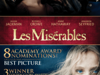 LES MISERABLES HDX VUDU (USA) / HD GOOGLE PLAY (CANADA) DIGITAL MOVIE CODE ONLY (READ DESCRIPTION FOR REDEMPTION SITE)