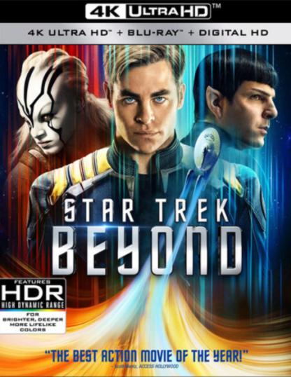 STAR TREK 3 / STAR TREK BEYOND 4K UHD iTunes DIGITAL COPY MOVIE CODE (DIRECT IN TO ITUNES) USA CANADA