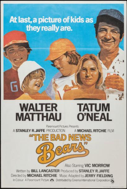 BAD NEWS BEARS (THE) (1976) HDX VUDU or HDX iTunes (USA) / HD iTunes (CANADA) DIGITAL COPY MOVIE CODE (READ DESCRIPTION FOR REDEMPTION SITE)