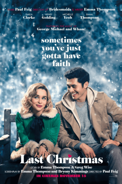 LAST CHRISTMAS HDX MOVIES ANYWHERE DIGITAL COPY MOVIE CODE (DIRECT IN TO MOVIES ANYWHERE) USA